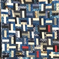 Annemarie Sprinkle, Blue Japanese Quilt