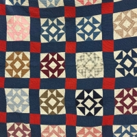 Christine Brock, Antique Quilt owned by Meg Wyeth (for sale)