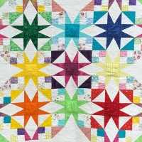 Athena Brandon, Stars (Eleanor Burns pattern)
