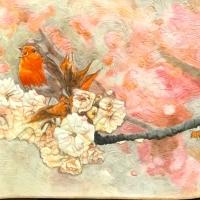 Carol Sebastian-Neeley, Tsukinecko Painted Bird